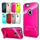 Dual Layer Shockproof Case Cover with Kickstand For iPhone 6 / iPhone 6 Plus