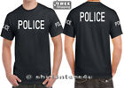 Police T- Shirt Swat County Sheriff Military Staff Security Guard S - 5XL Tee