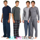 Mens Cargo Bay Short Long Sleeve Cotton Rich Pyjama Set Top Lounge Pants Gift