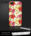 FLOWERS PATTERN 1 case for iPod iPhone 4 4S 5 5S 5C / Samsung S2 S3 S4 S5 & mini