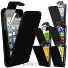 BLACK (PU) LEATHER FLIP CASE & LCD PROTECTOR FOR NEW AND POPULAR MOBILE PHONES
