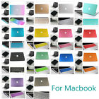 Rubberized Hard Case Laptop Shell Soft Carry Bag Fr New Macbook Air 13 Pro 13 15
