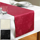 Christmas Xmas Trees Festive Jacquard Table Runner Dining Table Decoration New