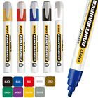 x3 Monami Pro Permanent Paint Marker Pen Wood Metal Plastic Glass Rubber Marking