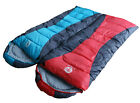 Sleeping Bag sticthing couple left right hollow fiber not down outdoor camping