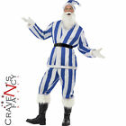 Christmas Football Santa QPR Blue & White Striped Boxing Day Match Fancy Dress