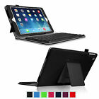 PU Leather Stand Case Cover With Removable Bluetooth Keyboard For New iPad Air 2