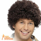 70s Disco Dude Wig Groovy Dancer Fancy Dress Costume Boogie Nights Accessory New