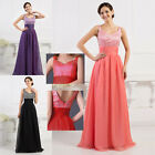 XMAS GIFT!! HOT SEQUINS Long Formal Evening Party Wedding Quinceanera Prom Dress