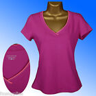NEW M&S Pink Performance T Shirt Top Sports Gym Size UK 14-18 RRP £10