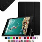 "Premium PU Leather Tri-fold Smart Shell Cover Case for HTC 8.9"" Google Nexus 9"