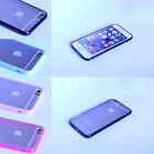 Ultra Thin Rugged Rubber Transparent Back Case Cover For Apple iPhone 6 6s Plus