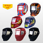 9 Models Auto Darkening Solar LCD Welding Helmet Mask Adjustable Delay Grinding