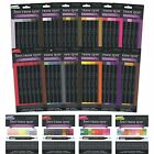 CRAFTERS COMPANION SPECTRUM NOIR SETS OF 6 & 24 MARKER PENS 168 COLOURS TWIN TIP
