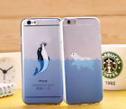 "4.7"" Cute Lovely Cartoon Animals Soft Cover Case For Iphone 5 5S 6 6 Plus 5.5"""