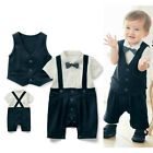 Baby Infant Boy Smart Causal Suit, Summer Party Dressy Outfit Wedding Party 0-24
