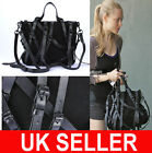 LATEST  Designer Celebrity Multi-Strap Faux Suede  X body Satchel Messenger Bag