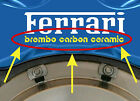 6 X Brembo Carbon Ceramic Brake Caliper Decal Sticker Graphics Vinyl Logo A
