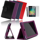 "PU Leather Smart Cover Case Stand for Asus Google Nexus 7 7"" 1st Generation 2012"