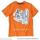 NWT CRAZY 8 Boys 4 4T &  5 5T 6 Orange SURFER T-shirt Top Blue short Sleeve NEW