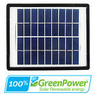 3W 5W 8W 9V Monocrystaline Cells Solar Panel 3 5 8 Watt 9 Volt Camping Charger
