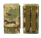 Universal Outdoor Army Camo Molle Bag Mobile Phone Belt Loop Hook Holster Pouch