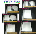 Poly Unsealed Self Adhesive bags Plastic OPP Clear Pack jewelry 6 Specification