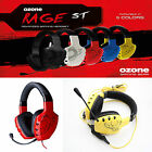 OZONE RAGE ST ADVANCE GAMING HEADSET 3.5MM JACK DETATCHABLE MIC 2.5M CABLE
