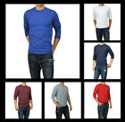 New Abercrombie A&F by Hollister Men Moose Creek Long Sleeve T-Shirt Muscle Fit