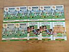 Leicester Rugby Programmes 1972 - 1995