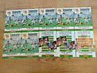 Leicester Rugby Programmes 1968 - 2005