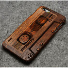 Real Natural Bamboo Wood Wooden Hard Shell Case Cover for iPhone 6 4.7''/6 Plus