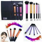 3/4/5/6pcs Pro Cosmetic Techniques Make Up Brushes Core Collection Starter Kits