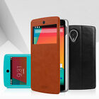 1X MOFI Slim View Flip Stand Leather Cover Case For LG Google Nexus 5