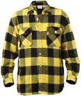 Rothco Flannel Shirts Heavyweight Brawny Buffalo Plaid Flannel Shirt Men & Women