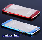 Fashion Luxury Ultrathin Electroplate PC Clear Back Case Cover F iPhone 6/6 Plus