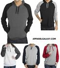 MENS HOODIE UNLINED, LIGHTWEIGHT, PULLOVER, POLY/COTTON, BEACH S M L XL 2XL 3XL
