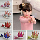 Baby Girl Infant Toddler Pearl Crown Hair Clip Hairpin Hair Jewelry Accessories
