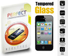 TEMPERED GLASS SCREEN PROTECTOR LCD FILM - VARIOUS MOBILE PHONES SAMSUNG IPHONE