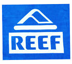 Reef Box Logo Towel Blue // BNWT // Two Bare Feet Reef Clearance Sale