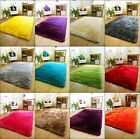 New Bright Modern Vibrant Colour Thick Luxurious Soft Pile  Rugs Carpets Mats uk