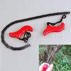 Outdoor Home Hand Tool High Limb Rope Chain Saw Manual Cutter Trimming Prunning