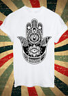 Hamsa Hand Khamsa Defend Evil Eye Jewellery T Shirt Men Women Unisex 1329