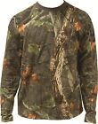 Tree Deep Camo LONG Sleeved T-Shirt ( Hunting Outdoors All Sizes 100% Cotton