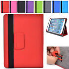 Universal 10 G Adjustable Folding Folio Cover & Screen Guard fits 10.1 Tablet-s
