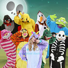 Cosplay Anime Pyjamas Costume Hoodies Animal Adult Onesie Unisex Fancy Dress Uk