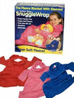 Kids fleece snugglewraps with sleeves   074/443   3 colours available