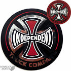 "INDEPENDENT ""Truck co."" Foil Skateboard Snowboard Sticker 8cm Red or Black"