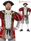 Adult Mens King Henry VIII  8th Fancy Dress Costume Tudor Medieval Historical