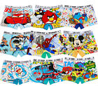 8PCS Cute Cartoon Cotton Boxer Briefs Underwear Underpant for Boys Kids Age: 3-9